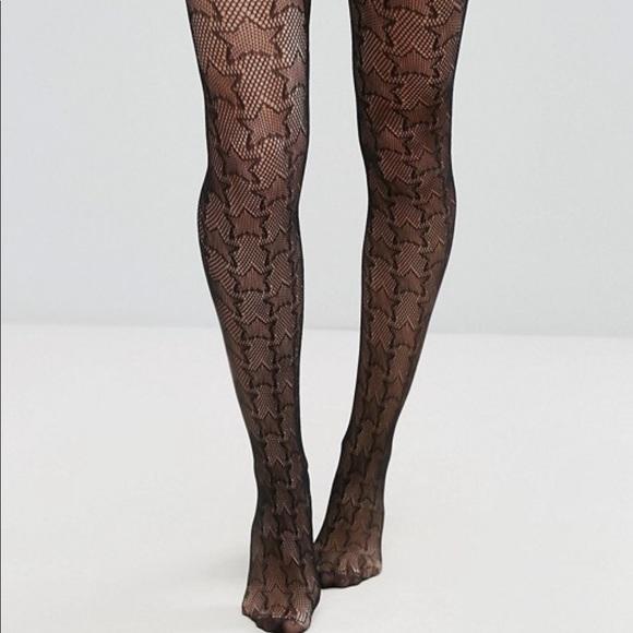 c7f712667 ASOS Star fishnet stockings